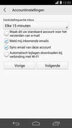 Huawei Ascend P7 - e-mail - handmatig instellen - stap 8