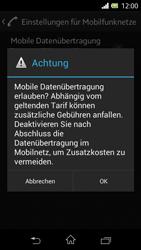 Sony Xperia L - Internet - Manuelle Konfiguration - Schritt 7