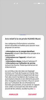 Huawei P40 - Photos, vidéos, musique - Ecouter de la musique - Étape 3