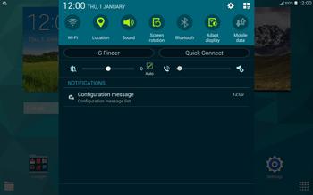 Samsung T805 Galaxy Tab S - Internet - Automatic configuration - Step 4
