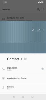 OnePlus 7 Pro - Contact, Appels, SMS/MMS - Ajouter un contact - Étape 13