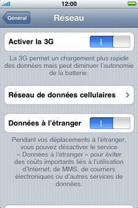 Apple iPhone 3G - MMS - configuration manuelle - Étape 5