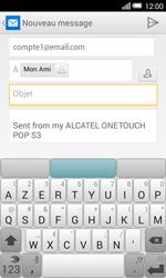 Alcatel Pop S3 (OT-5050X) - E-mail - envoyer un e-mail - Étape 7