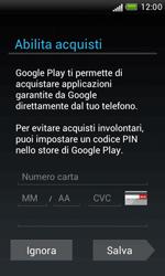 HTC Desire X - Applicazioni - Configurazione del negozio applicazioni - Fase 14
