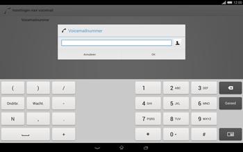 Sony Xperia Tablet Z2 (SGP521) - Voicemail - handmatig instellen - Stap 8