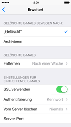 Apple iPhone 5s - E-Mail - Manuelle Konfiguration - Schritt 22
