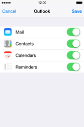 Apple iPhone 4S iOS 7 - E-mail - 032c. Email wizard - Outlook - Step 9