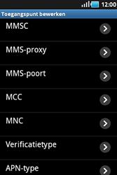 Samsung S5830 Galaxy Ace - MMS - handmatig instellen - Stap 9