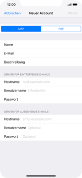 Apple iPhone XR - E-Mail - Konto einrichten - 10 / 30