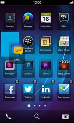 BlackBerry Z10 - Operazioni iniziali - Personalizzazione della schermata iniziale - Fase 4