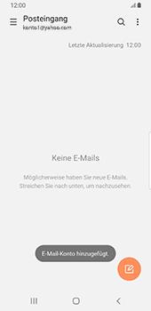 Samsung Galaxy S9 - Android Pie - E-Mail - Konto einrichten (yahoo) - Schritt 10