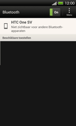HTC C525u One SV - bluetooth - headset, carkit verbinding - stap 6