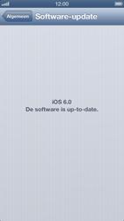 Apple iPhone 5 (iOS 6) - software - update installeren zonder pc - stap 5