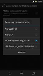 Sony Xperia Z - Netzwerk - Netzwerkeinstellungen ändern - Schritt 7
