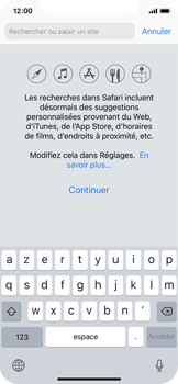 Apple iPhone X - Internet - Navigation sur Internet - Étape 3