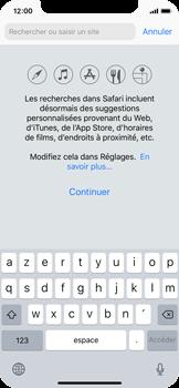 Apple iPhone X - Internet et roaming de données - Navigation sur Internet - Étape 4