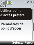 Nokia 2720 fold - Internet - Configuration manuelle - Étape 10