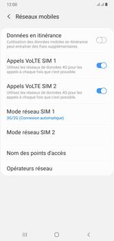 Samsung Galaxy A10 - Internet et connexion - Activer la 4G - Étape 6