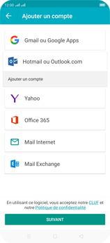 Oppo Reno 2 - E-mails - Ajouter ou modifier votre compte Outlook - Étape 6