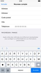 Apple iPhone 6 Plus - Applications - Créer un compte - Étape 23
