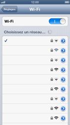 Apple iPhone 5 - WiFi - configuration du WiFi - Étape 9