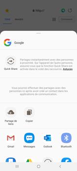 Samsung Galaxy A31 - Internet et connexion - Naviguer sur internet - Étape 22
