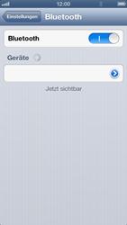 Apple iPhone 5 - Bluetooth - Verbinden von Geräten - Schritt 9