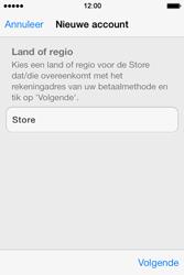 Apple iPhone 4 iOS 7 - apps - account instellen - stap 9