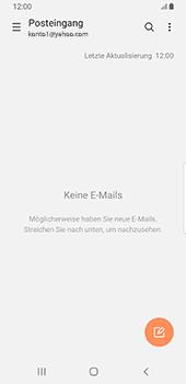 Samsung Galaxy S9 - Android Pie - E-Mail - 032b. Email wizard - Yahoo - Schritt 5