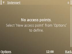 Nokia E72 - Internet - Manual configuration - Step 8