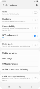 Samsung Galaxy A80 - WiFi - How to enable WiFi hotspot - Step 5