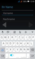 Huawei Y3 - Apps - Konto anlegen und einrichten - Schritt 4