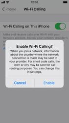 Apple iPhone SE - iOS 13 - WiFi - Enable WiFi Calling - Step 7
