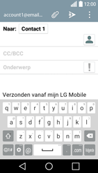 LG H320 Leon 3G - E-mail - e-mail versturen - Stap 7