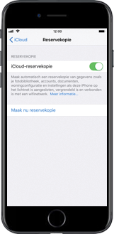 Apple iPhone 8 Plus (Model A1897) - Instellingen aanpassen - Back-up maken in je account - Stap 10