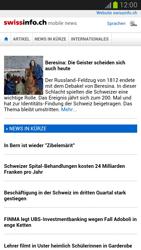Samsung Galaxy Note II - Internet und Datenroaming - Verwenden des Internets - Schritt 12