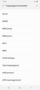 Samsung Galaxy A70 - Internet - handmatig instellen - Stap 14