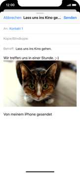 Apple iPhone XS - E-Mail - E-Mail versenden - 14 / 16