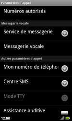 Acer Liquid S100 - SMS - configuration manuelle - Étape 5