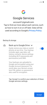 Samsung Galaxy S20 Plus 5G - E-mail - 032a. Email wizard - Gmail - Step 12