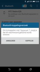 HTC Desire 626 - Bluetooth - Koppelen met ander apparaat - Stap 7