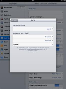 Apple iPad - E-mail - Configuration manuelle - Étape 11