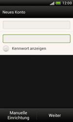 HTC T328e Desire X - E-Mail - Konto einrichten - Schritt 7