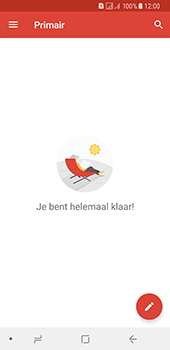 Samsung Galaxy A8 (2018) - E-mail - handmatig instellen (gmail) - Stap 7