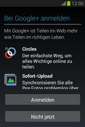 Samsung Galaxy Fame Lite - Apps - Einrichten des App Stores - Schritt 19