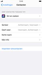 Apple iPhone SE (2020) (Model A2296) - Contacten en data - Contacten kopiëren van SIM naar toestel - Stap 4