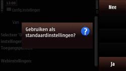 Nokia N97 Mini - Internet - automatisch instellen - Stap 6