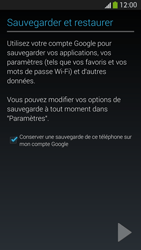 Samsung I9505 Galaxy S IV LTE - E-mail - Configuration manuelle (gmail) - Étape 13