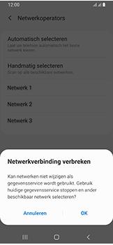 Samsung Galaxy A40 - netwerk en bereik - gebruik in binnen- en buitenland - stap 12