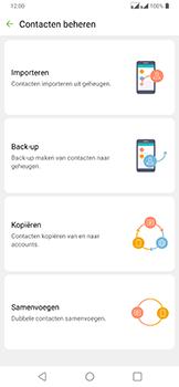 LG g7-fit-dual-sim-lm-q850emw-android-pie - Contacten en data - Contacten kopiëren van SIM naar toestel - Stap 7